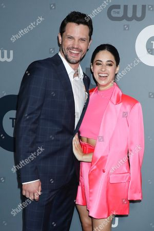 Stock Image of Nathan Dean Parsons, Jeanine Mason