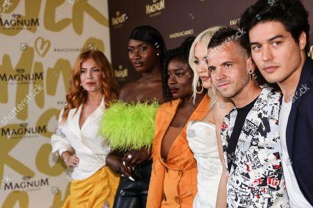 Rita Ora, Palina Rojinski, David Munoz, Clara Amfo, Cristiano Ca