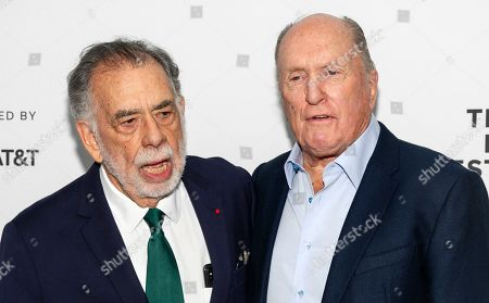 Francis Ford Coppola and Robert Duvall