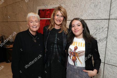 Diane Ladd, Laura Dern and Jaya Harper