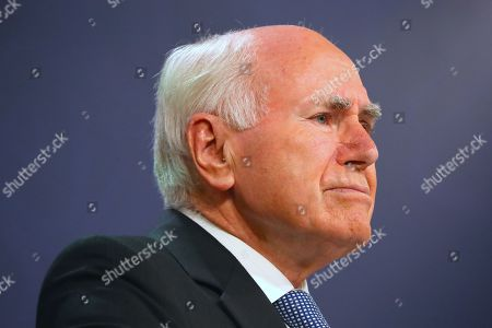 Former Australian Prime Minister John Howard listens to a question during a media conference in Sydney, New South Wales, Australia, 17 May 2019. Howard paid tribute to former Australian prime minister Bob Hawke, who passed away on 16 May 2019 aged 89.