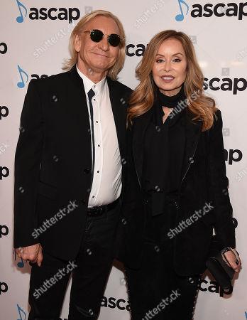 Stock Picture of Joe Walsh, Marjorie Bach