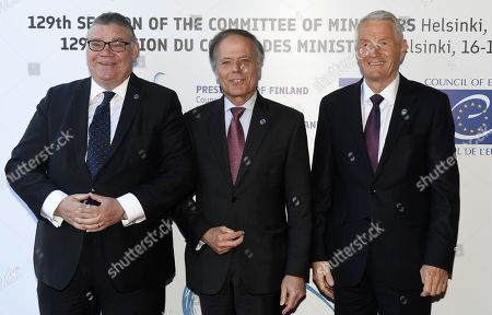 Editorial picture of Council of Europe Annual Meeting of Foreign Affairs Ministers, Helsinki, Finland - 17 May 2019 - 17 May 2019