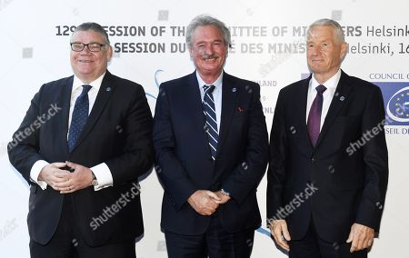 Editorial image of Council of Europe Annual Meeting of Foreign Affairs Ministers, Helsinki, Finland - 17 May 2019 - 17 May 2019
