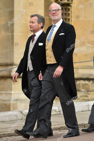 Daniel Chatto and George Windsor Earl of St Andrews