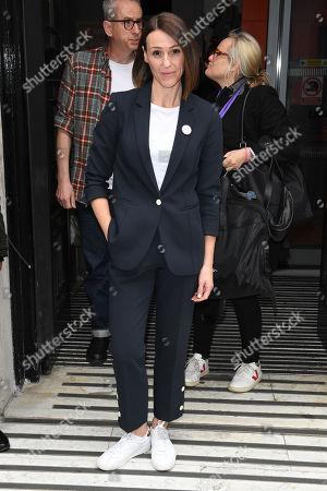 Suranne Jones at BBC Radio 2 Studios