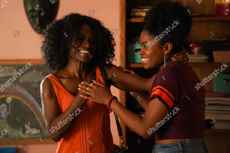 Patrice Johnson as Tracey Perkins and Kyanna Simone as Yvonne