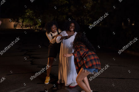 Kyanna Simone as Yvonne, Patrice Johnson as Tracey Perkins and Sivan Alyra Rose as Sasha Yazzie