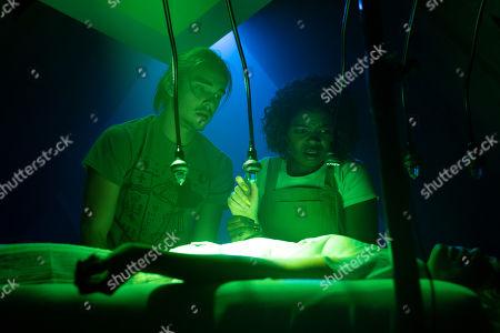 Griffin Powell Arcand as TJ Locklear and Kyanna Simone as Yvonne