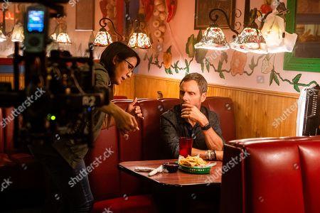 Sydney Freeland Director and Tony Goldwyn as Ben Lefevre