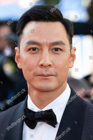 Daniel Wu poses for photographers upon arrival at the premiere of the film 'Rocketman' at the 72nd international film festival, Cannes, southern France