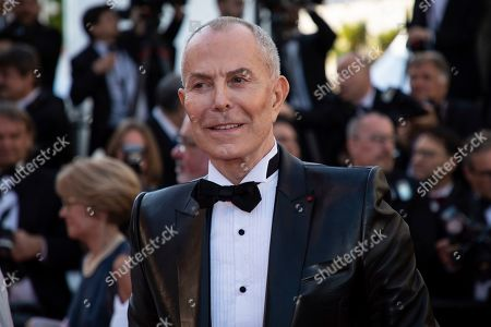 Jean-Claude Jitrois poses for photographers upon arrival at the premiere of the film 'Rocketman' at the 72nd international film festival, Cannes, southern France