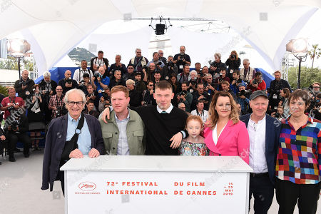 Editorial image of 'Sorry We Missed You' photocall, 72nd Cannes Film Festival, France - 17 May 2019