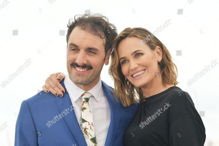 Michael Angelo Covino and Judith Godreche