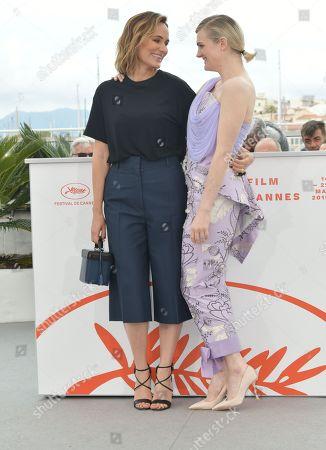 Gayle Rankin and Judith Godreche