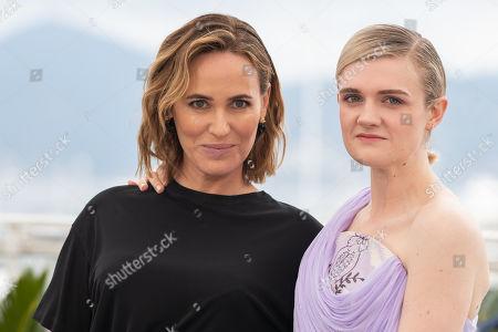 Judith Godreche and Gayle Rankin