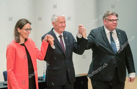 Editorial picture of Ministers for foreing affairs of the Council of Europe annual meeting in Helsinki Finland - 17 May 2019