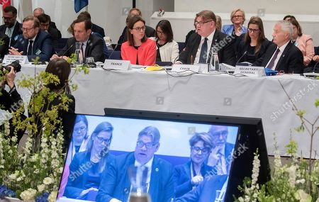 Editorial photo of Ministers for foreing affairs of the Council of Europe annual meeting in Helsinki Finland - 17 May 2019