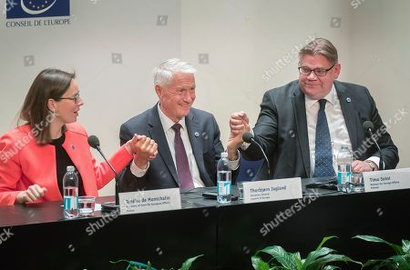 Editorial image of Ministers for foreing affairs of the Council of Europe annual meeting in Helsinki Finland - 17 May 2019