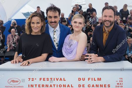 Judith Godreche, Michael Angelo Covino, Gayle Rankin and Kyle Marvin