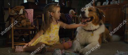 Emma Volk as Toddler CJ and Bailey (Josh Gad)