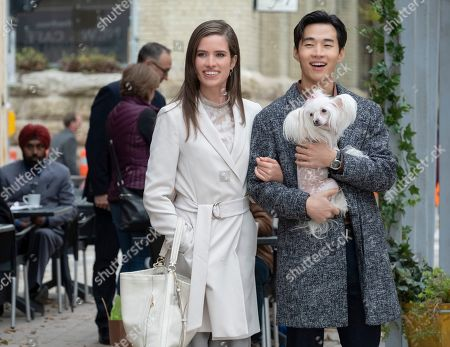 Daniela Lavender as Liesl, Henry Lau as Trent and Ms. Thing