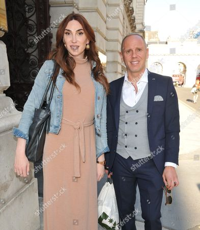 Juno Dawson and Rob Rinder (Judge Rinder)