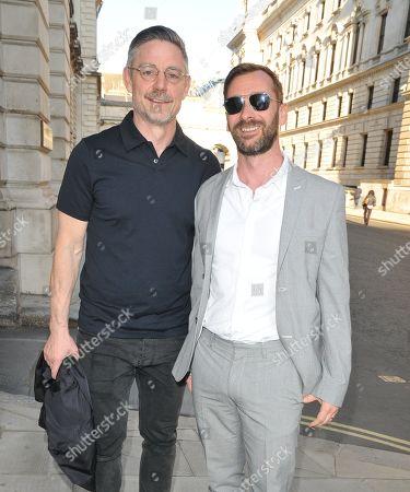 Cameron Laux and Charlie Condou