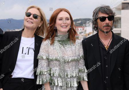 Marthe Keller, Julianne Moore and Pierpaolo Piccioli
