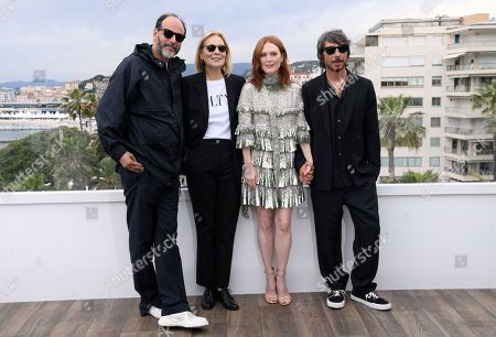 Luca Guadagnino, Marthe Keller, Julianne Moore and Pierpaolo Piccioli