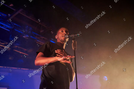 Editorial image of Samm Henshaw in concert at Electric Brixton, London - 15 May 2019