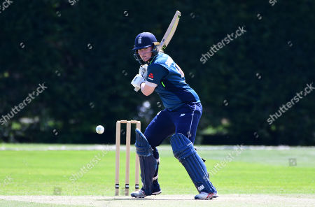 Stock Picture of Anya Shrubsole batting