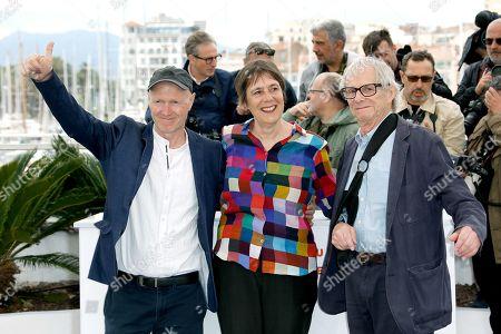 Paul Laverty, Rebecca O'Brien and Ken Loach