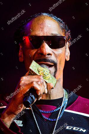 Editorial photo of Snoop Dog in concert at Peterborough Memorial Centre, Canada - 16 May 2019