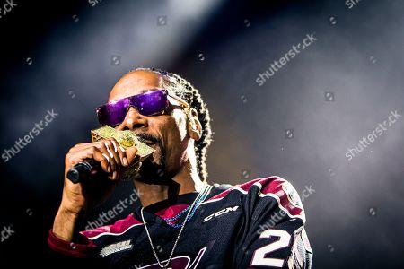 Editorial image of Snoop Dog in concert at Peterborough Memorial Centre, Canada - 16 May 2019