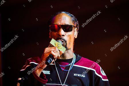 Editorial picture of Snoop Dog in concert at Peterborough Memorial Centre, Canada - 16 May 2019