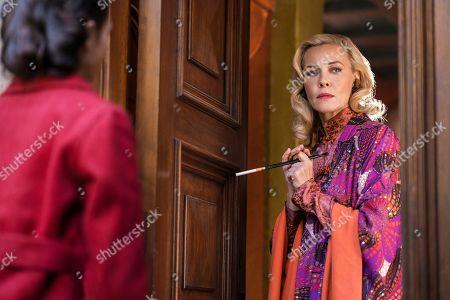 India Eisley as Fauna Hodel/Pat and Connie Nielsen as Corinna Hodel