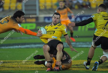 James Marshall is tackled