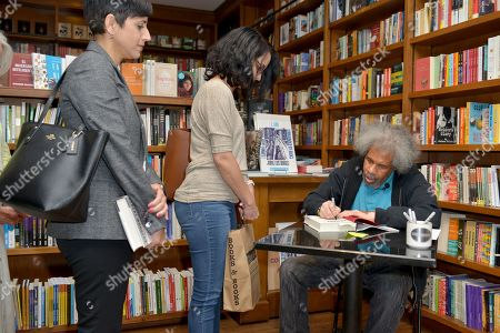 """Former """"Angola 3"""" inmate Albert Woodfox signs copies of his book """"Solitary"""" at Books & Books"""