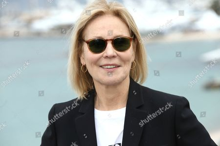 Marthe Keller poses for photographers at the photo call for the film 'The Staggering Girl' at the 72nd international film festival, Cannes, southern France