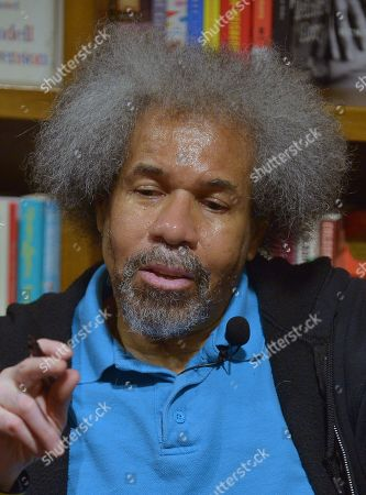 Former 'Angola 3' inmate Albert Woodfox sign copies of his book 'Solitary' at Books & Books.