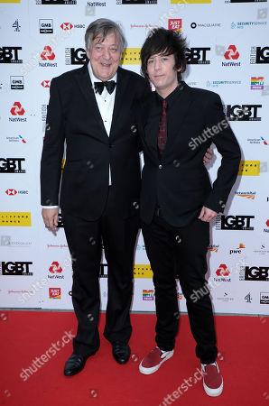 Stephen Fry and Elliott Spencer