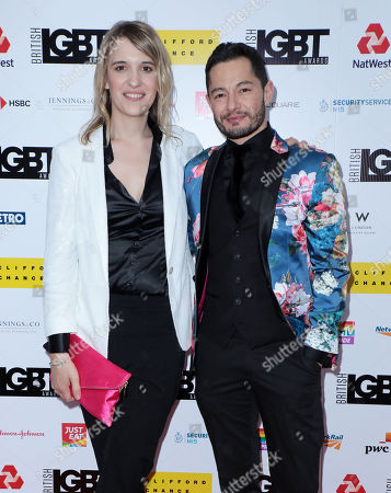 Hannah Winterbourne and Jake Graf