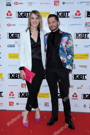 Stock Picture of Hannah Winterbourne and Jake Graf