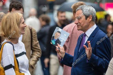Editorial image of Change UK European Election Campaigning, London, UK - 17 May 2019