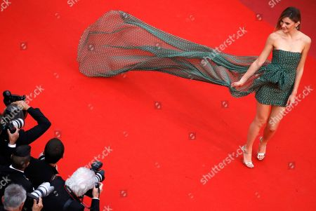 Stefanie Giesinger arrives for the screening of 'Dolor y Gloria' (Pain and Glory) during arrive for the screening of 'Dolor y Gloria' (Pain and Glory) during the 72nd annual Cannes Film Festival, in Cannes, France, 17 May 2019. The movie is presented in the Official Competition of the festival which runs from 14 to 25 May.