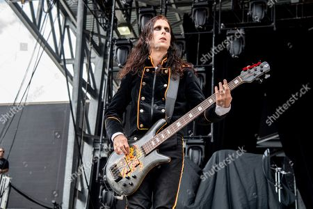 Stock Picture of Henrik Sandelin of Avatar performs at the Sonic Temple Art and Music Festival at Mapfre Stadium, in Columbus, Ohio