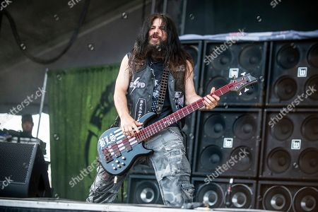 Stock Picture of John DeServio of Black Label Society performs at the Sonic Temple Art and Music Festival at Mapfre Stadium, in Columbus, Ohio