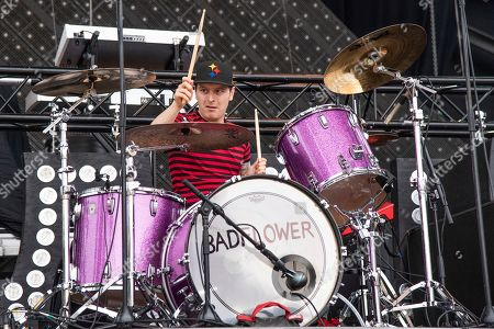 Anthony Sonetti of Badflower performs at the Sonic Temple Art and Music Festival at Mapfre Stadium, in Columbus, Ohio