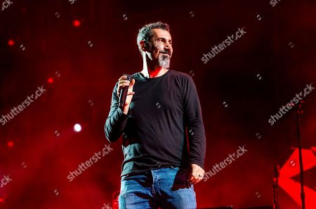 Serj Tankian of System Of A Down performs at the Sonic Temple Art and Music Festival at Mapfre Stadium, in Columbus, Ohio